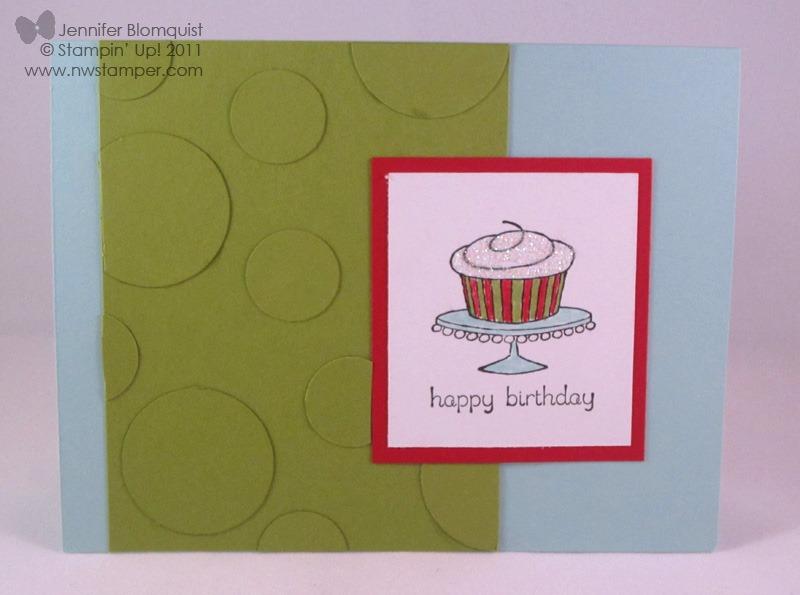 easy events sparkly fun birthday card  northwest stamper, Birthday card