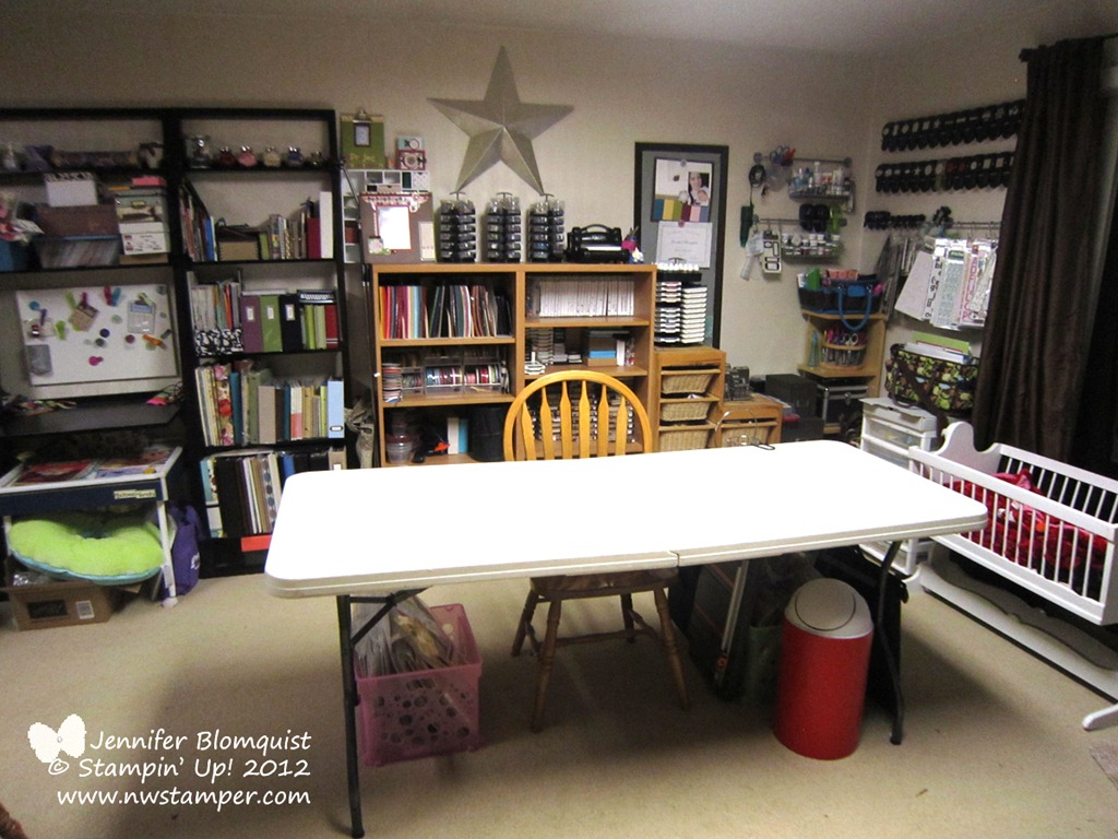 How I Organize My Craft Room Northwest Stamper