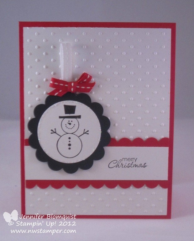 Christmas Stamp A Stack Cards