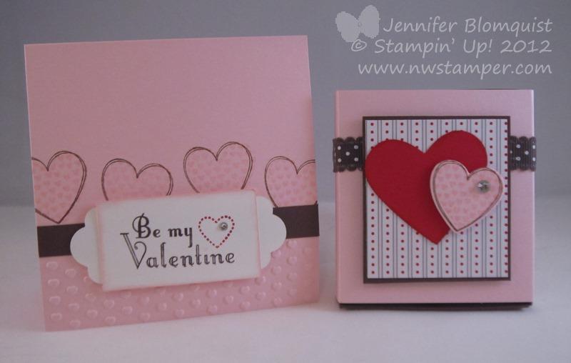 Hersheys Nugget Treat Box with Hearts a FlutterNorthwest Stamper