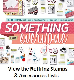 Retiring stamps and accessories