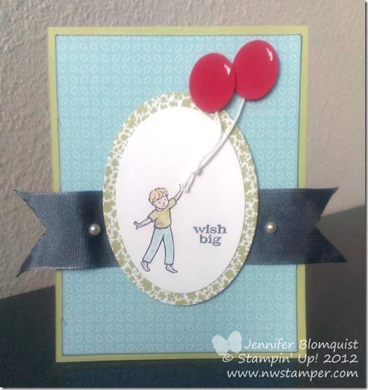 CuteCardThursday Wish Big Card