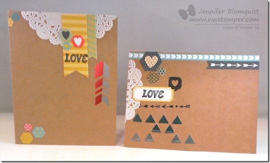 january paper pumpkin kit demo cards