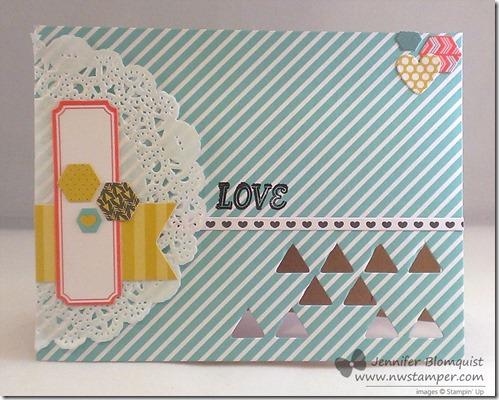 jsnuary paper pumpkin variation 2 love card