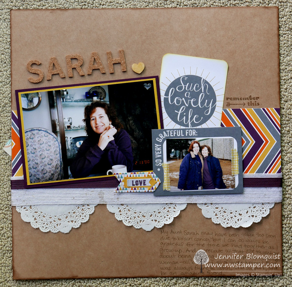 Scrapbooking Sunday: Using Project Life Cards On A
