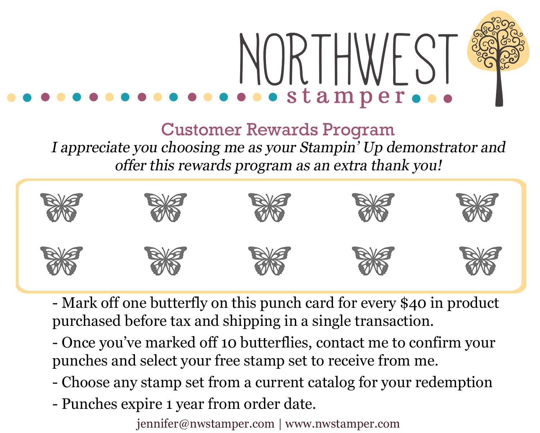 Customer Rewards Program - Northwest Stamper