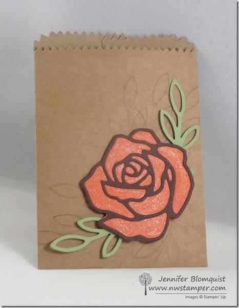 Rose Garden Mini Treat Bag