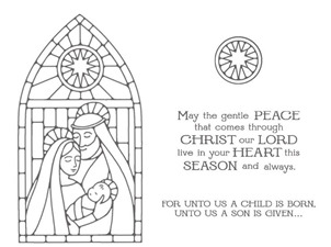 Gentle Peace stamp images