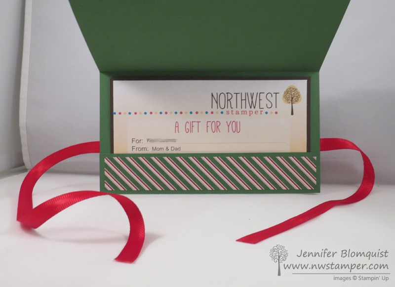 Festival of Trees–a Christmas Card and a Gift Certificate Holder ...
