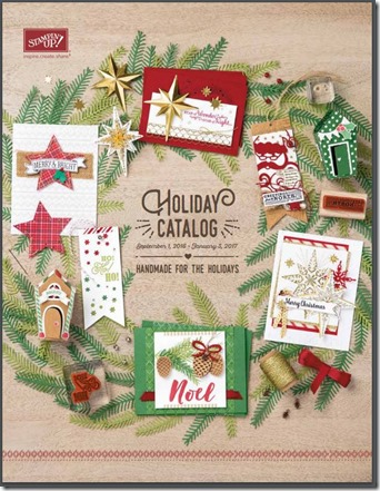 2016 Holiday Catalog cover